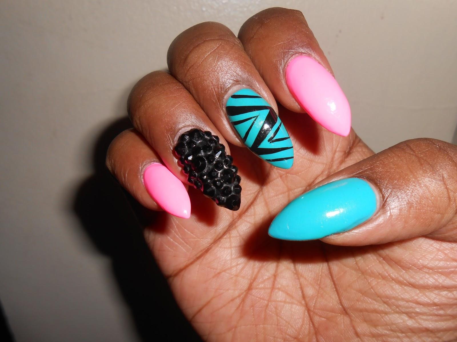 The gallery for --> Nicki Minaj Stiletto Nails